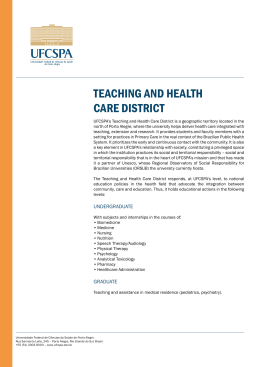 TEACHING AND HEALTH CARE DISTRICT