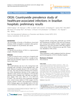 O026: Countrywide prevalence study of healthcare