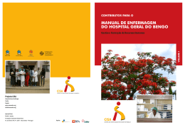 manual de enfermagem do hospital geral do bengo