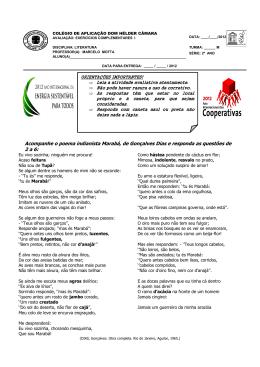 Acompanhe o poema indianista Marabá, de Gonçalves Dias e