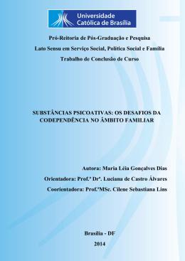 Maria Léia Gonçalves Dias - Universidade Católica de Brasília