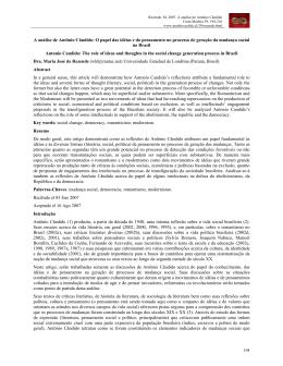 A análise de Antônio Cândido