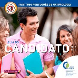 GUIA DO - IPN - Instituto Português de Naturologia