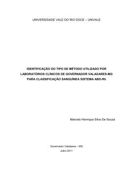 Monografia Marcelo Henrique Pós-graduação Análise