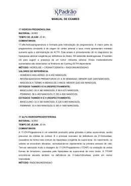MANUAL DE EXAMES - laboratoriopadrao.com.br