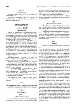Portaria 132/2009
