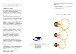 Sistema de Gestão de Idéias - NTech Tecnologia de Informação Ltda