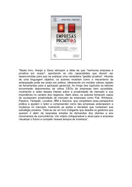 """""""Neste livro, Araújo e Gava reforçam a idéia de que """"nenhuma"""