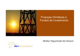 Finanças Climáticas e Fundos de Investimento
