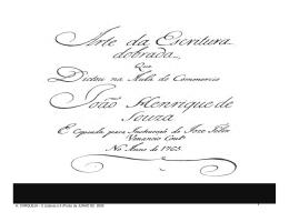 Arte da Escritura - Ordem dos Contabilistas Certificados