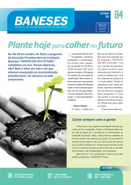 Plante hoje para colher nofuturo