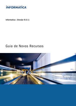 Informatica 9.0.1 New Features Guide