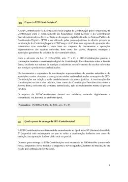 Capítulo XXVII - EFD-Contribuições - 2014