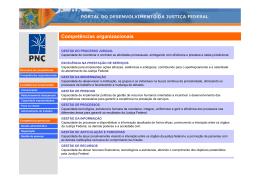 Dicionário - Competência organizacionais