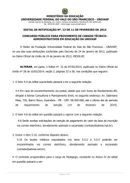 Edital 13/2014