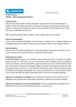 FICHA TÉCNICA TS 3201 (Cores) Polisten – Stain