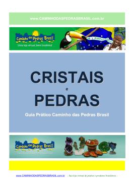 Guia de Cristais e Pedras - Caminho das Pedras Brasil