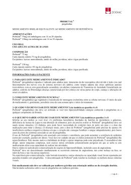 PREBICTAL® pregabalina MEDICAMENTO SIMILAR