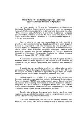 Flávio Obino Filho é indicado para presidir a
