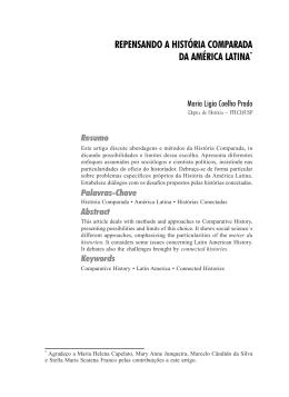 repensando a história comparada da américa latina