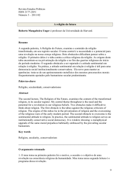 Este artigo em PDF - Revista Estudos Políticos