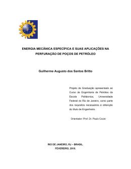 ENERGIA MECÂNICA ESPECÍFICA E SUAS