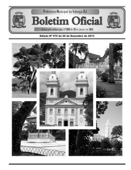 RJ Edição 575 - Prefeitura Municipal de Valença