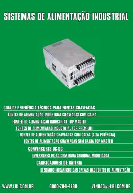 SISTEMAS DE ALIMENTAÇÃO INDUSTRIAL