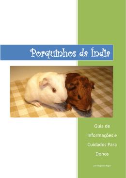 Porquinhos da Índia - Guia de Informações e Cuidados para Donos