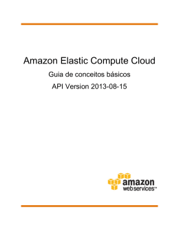 Amazon-ec2-gsg-pt_br - Amazon Web Services
