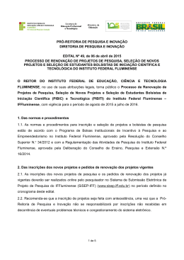 Edital nº 49/2015
