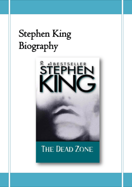 Stephen King Biography - pradigital-tome