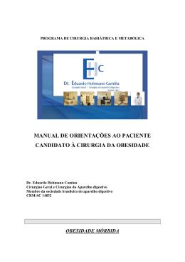 HOSPITAL DAS CLÍNICAS - Dr. Eduardo Hohmann Camiña