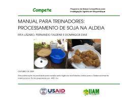 Compete MANUAL PARA TREINADORES: PROCESSAMENTO DE