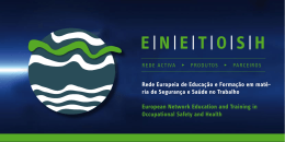 E |N - European Network Education and Training in Occupational