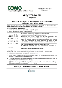 086 –Arquiteto Jr