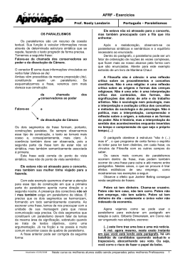 AFRF - Exercícios - Dicas Diárias de Português