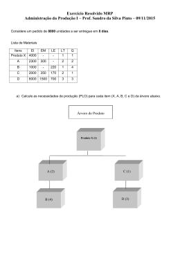 Exercício Resolvido MRP Adm Produção I 09_11_15