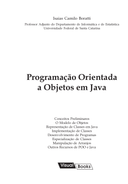 Cópia de POO Java - Sumário
