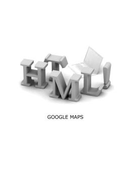 html google maps