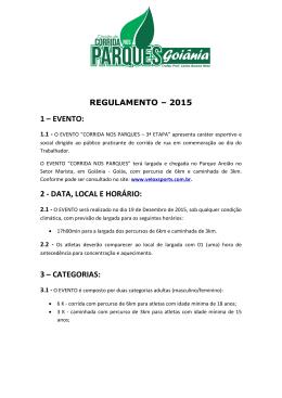Regulamento - Velox Sports