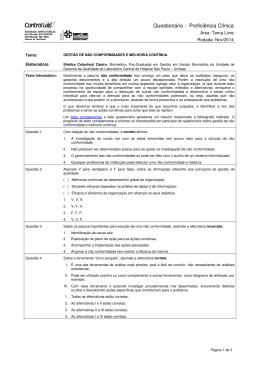 CLÍNICO Tema Livre - NOV/2014
