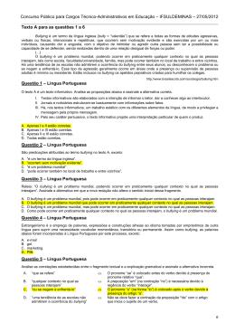 Técnico em Tecnologia da Informação - Concursos
