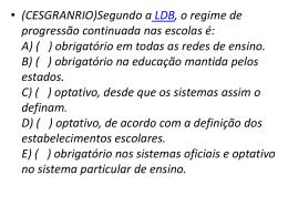 Exercícios LDB - romulopt.com.br