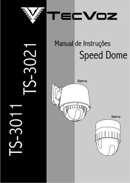 Manual Speed Dome - Plantec Distribuidora