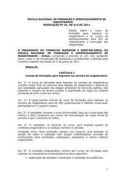 Resolução nº 01/2011