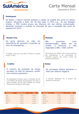 Carta Mensal - AF Financial Advisory