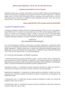 Resolução Normativa n° 295