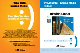 História Global - Saraiva S/A Livreiros Editores