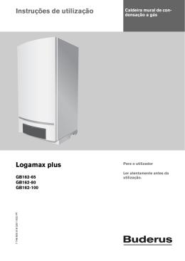 Instruções de utilização Logamax plus